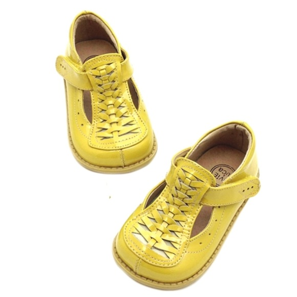 Livie Luca Toi Toi Girl Shoes In Yellow